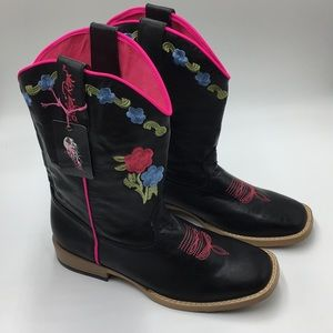 Blazin Roxx Western Boots Youth Girls 6